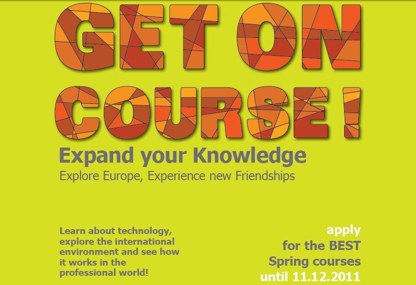 BEST Spring Courses 2012